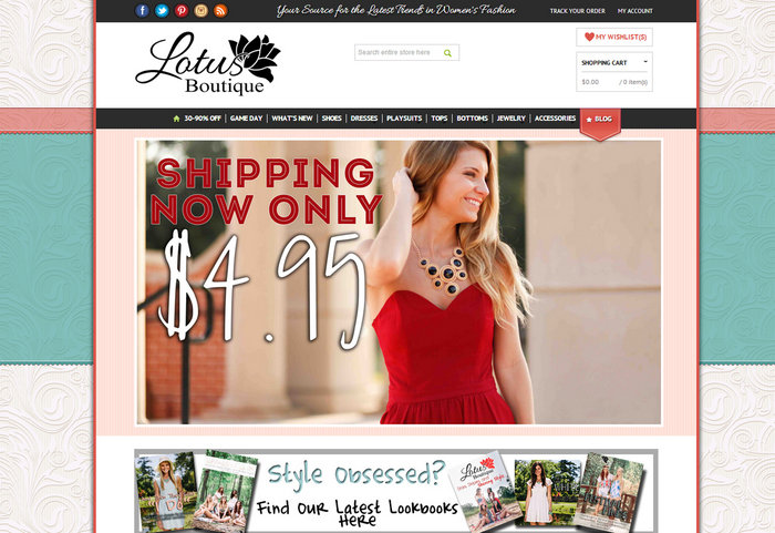 Cloth Designing Websites | 10 Women S Clothing Boutique Web Designs To Inspire You Blog